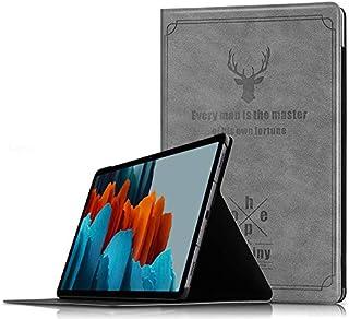 جراب Samsung Galaxy Tab S7 SM-T870/T875 اللوحي الذكي للنوم / الاستيقاظ مع وظيفة قوس غطاء واقي مضاد للسقوط