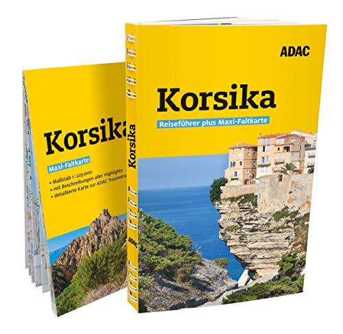 ADAC Reiseführer plus Korsika: Mit Maxi-Faltkarte und praktischer Spiralbindung