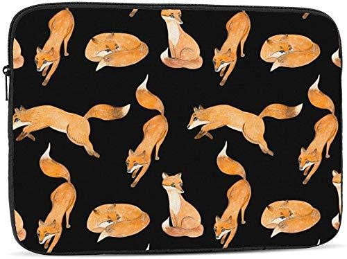 Bernice Winifred Funda para portátil con diseño de calavera de Halloween compatible con estuche para ordenador portátil de moda de 10-17 pulgadas, 17 pulgadas