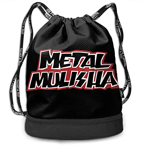 XCNGG Metall-Muli-Sha Multifunktionaler Reisesport- und Freizeit-Kordelzugrucksack