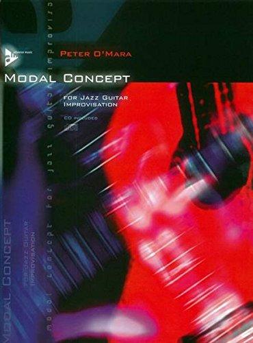 Modal Concept: for Jazz Guitar Improvisation. Gitarre. Lehrbuch mit CD. (Advance Music)