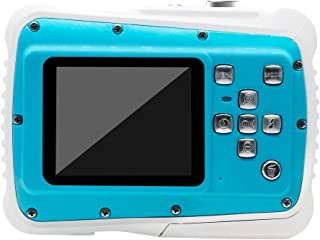Cámara para niños Cámara HD niños submarina cámara digital resistente al agua con 2 pulgadas de pantalla táctil Los mejores regalos for las cámaras digitales y de muchachos de los niños Cámaras digita