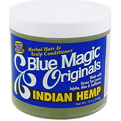 Blue Magic Indian Hemp Conditioner, 12 Ounce (BLMIND)