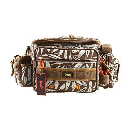 Kingdom Waterproof Fishing Bag, Portable Outdoor Shoulder Bag, Multiple-use Waist Pack