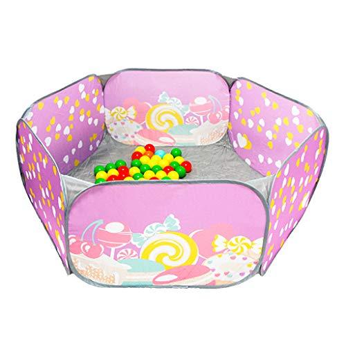 Fosse Pliable pour Enfants, Parc de Jeu intérieur et extérieur pour Tente de Piscine Soft Ball Pit (balles Non incluses) -140x48cm