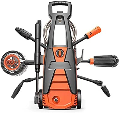 Power Washer, Electric Pressure Washer, High Pressure Washer With 2 Nozzles, Suitable For Cars, Gardens, Courtyards dljyy by dljxx
