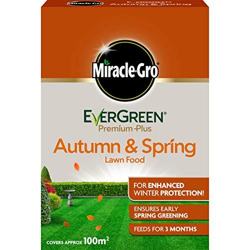 Miracle-Gro EverGreen Premium Plus Autumn & Spring Lawn Food 2kg - 100m2