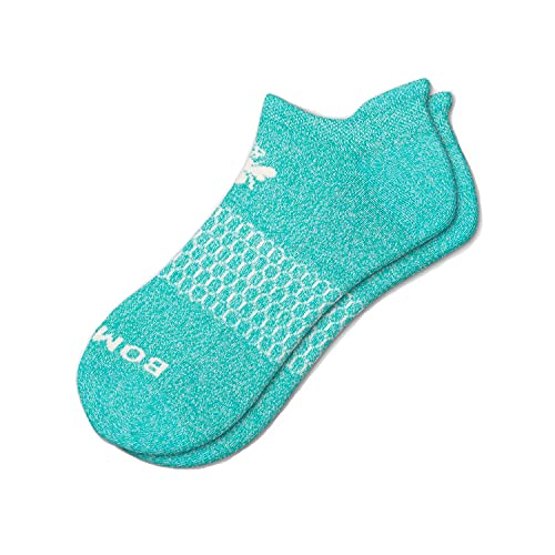 Bomba's Women's Mint Marl Ankle Socks Size Large