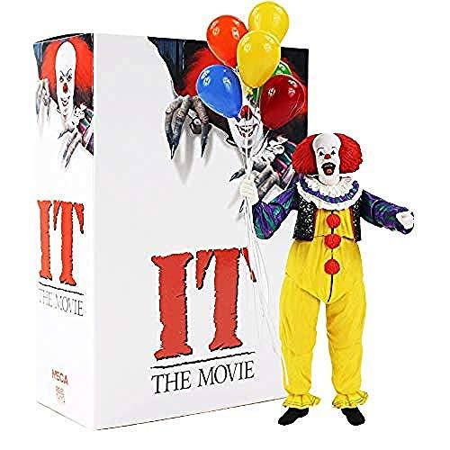 WXxiaowu - Figura de acción Coleccionable de Stephen King S It Clown (17 cm), diseño de la película Pennywise 1990
