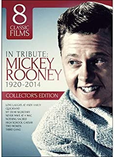 Mickey Rooney Commememoration Collection