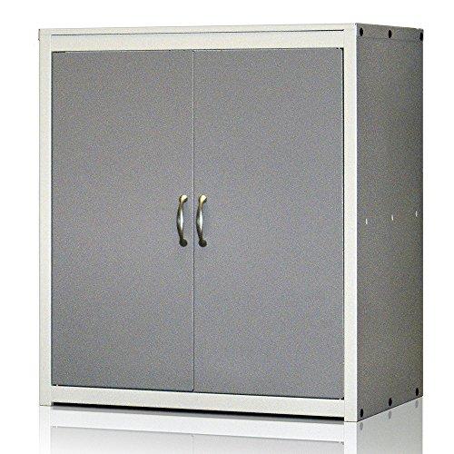 Armario metálico Ordenación Serie Venecia. Cierre Magnético. Med. 900x800x500 mm. Desmontado