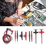 Kit de cables de prueba, Kit de cables de prueba electrónicos para multímetro Probador de cables Sonda Conjunto de pinza de aguja electrónica