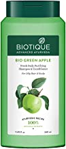 Biotique Bio Green Apple Fresh Daily Purifying Shampoo & Conditioner for Oily Scalp & Hair, 340 ml