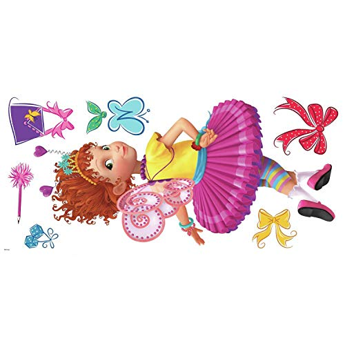 RoomMates Fancy Nancy Peel and Stick Wall Decals One Size Blue Pink Red