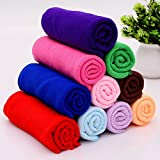 Ultra-Soft, non-abrasive microfiber cloth. Does not scratch paint, coatings or other surfaces Easy to Wash - No Chemicals Required - No Bleach- Light Weight - Lasts Hundreds of Washes Pack comes with cleaning cloth of different lively colours (Purple...