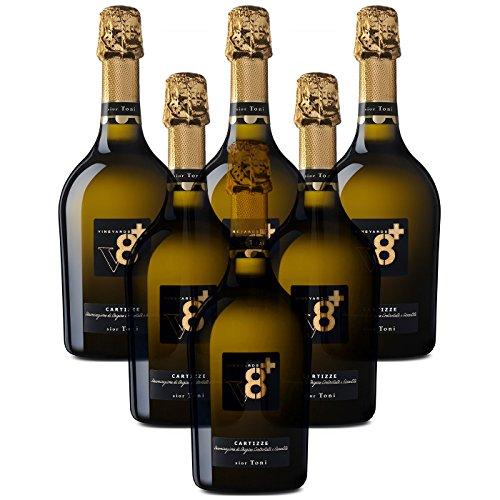 Sior Toni Prosecco di Valdobbiadene Superiore di Cartizze DOCG Vineyeards V8+ 6 X 75 cl.