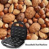 Grandnessry Appareil À Plaque Chauffante pour 12 Biscuit en Forme De Noix