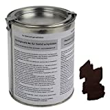 ALPIDEX Imprägnierfarbe Wetterschutzfarbe für Siebdruckplatten 500 ml Holzschutzfarbe Holzlack Siebdruckfarbe
