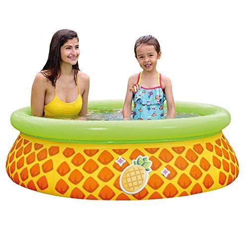 DFKDGL Planschbecken, Schwimmbäder, aufblasbares Kinderbecken für Erwachsene, verschleißfestes, Dickes Marineballbecken, 59 * 16In Ideal für alle Kinder und Erwachsene
