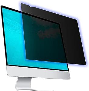 24 Inch Computer Privacy Screen Filter for Widescreen Computer Monitor, Anti Blue Light Screen Protector, Anti-Scratch Protector Film for Data confidentiality - 16:9 Aspect Ratio