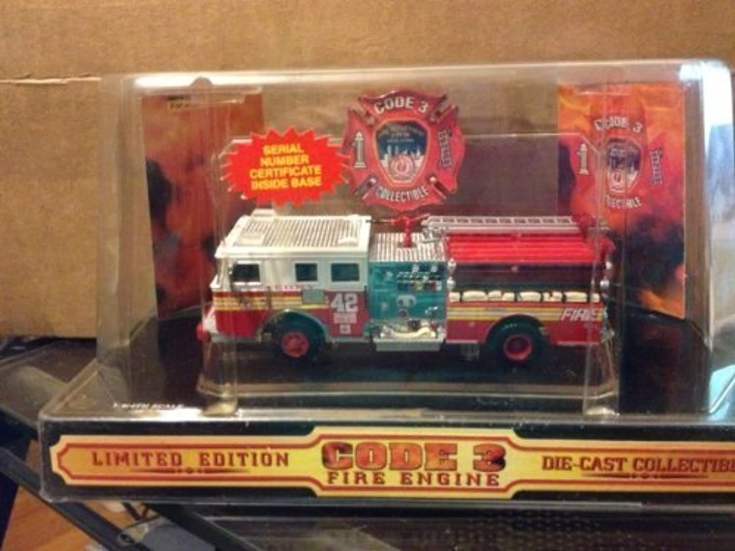 Code 3 Fire Engine New York City 1998 by Code 3