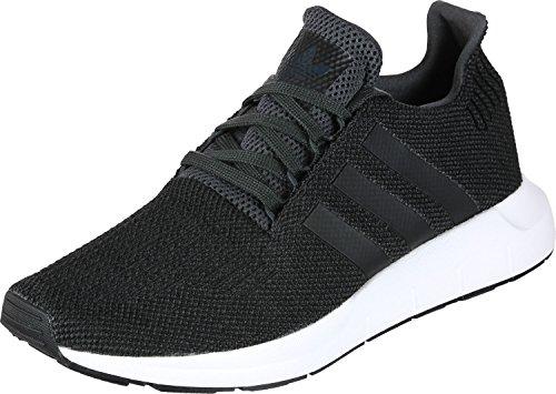 ADIDAS Swift Run, Zapatillas para Hombre, Negro (Black/Carbon/Core Black/Medium Grey Heather Cq2114), 44 EU