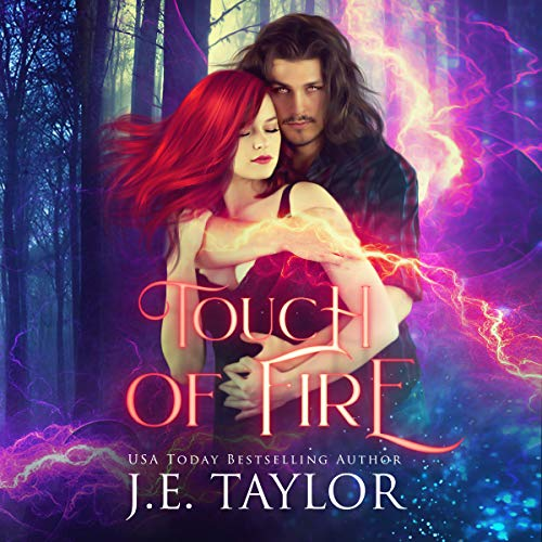 Touch of Fire audiobook cover art