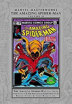 Amazing Spider-Man Masterworks Vol. 23 (Amazing Spider-Man (1963-1998)) by [Mark Gruenwald, Ralph Macchio, George Perez, Ron Wilson, Jerry Bingham, Frank Springer, Michael Netzer]