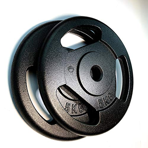 GDC Cast Pesi 5kg x 2 - Ghisa (Iron Cast)