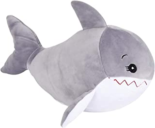 ArtCreativity Softies Shay The Shark - 14 Inch Plush Stuffed Animal - Super Soft and Cuddly Toy - Cute Nursery Decor for Kids - Best Gift for Baby Shower, Boys, Girls