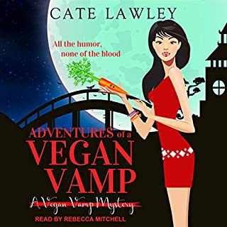 Adventures of a Vegan Vamp audiobook cover art