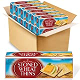 Red Oval Farms Stoned Wheat Thins Crackers,...