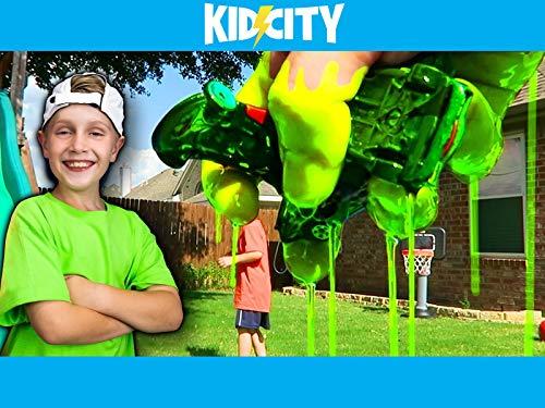 KidCity's Slime Jump Challenge!