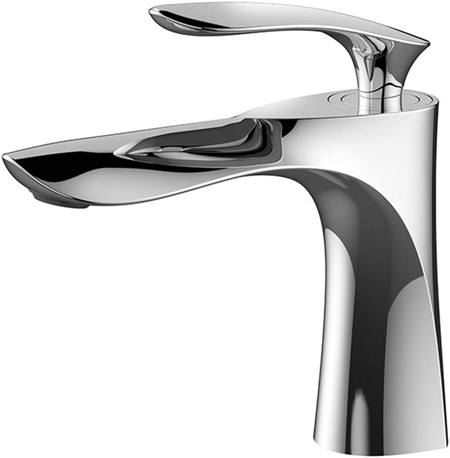 Basin Faucets Elegant Bathroom Sink Hot And Cold Water Mixer Toilet Crane Tap Brass Chrome Finish,Chrome