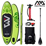 Aqua Marina Breeze 2019 Sup - Tabla de Surf (Hinchable), Board+SportIII Paddle