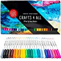 Fabric Markers Pens Permanent 24 Colors Fabric Paint Art Markers Set