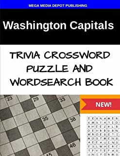 Washington Capitals Trivia Crossword Puzzle and Word Search Book