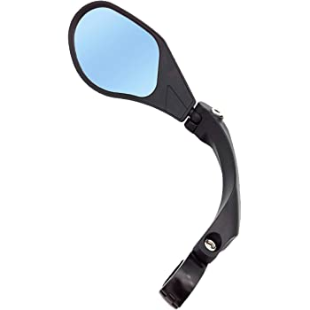 HD,Blast-Resistant HF-MR095 Glass Lens Hafny New Handlebar Bike Mirror Renewed