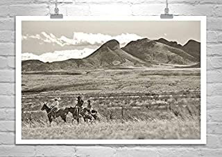 Cowboy Gift, Cowboy Art, Horse Photography, John Wayne