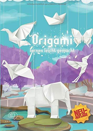 Origami lernen leicht gemacht: Origami-Buch für Kinder und Erwachsene, Origami Faltbuch mit 45 Anleitungen + 5 Videoanleitungen und Bonusmaterial ... spannende Welt der Origami-Kunst, Band 2)
