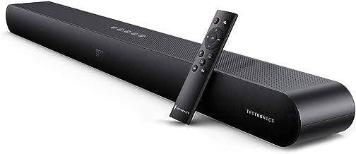 Soundbar, TaoTronics 2.1 Channel TV Sound Bar, 3 Equalizer Modes, 90W, 36-Inch, Button..