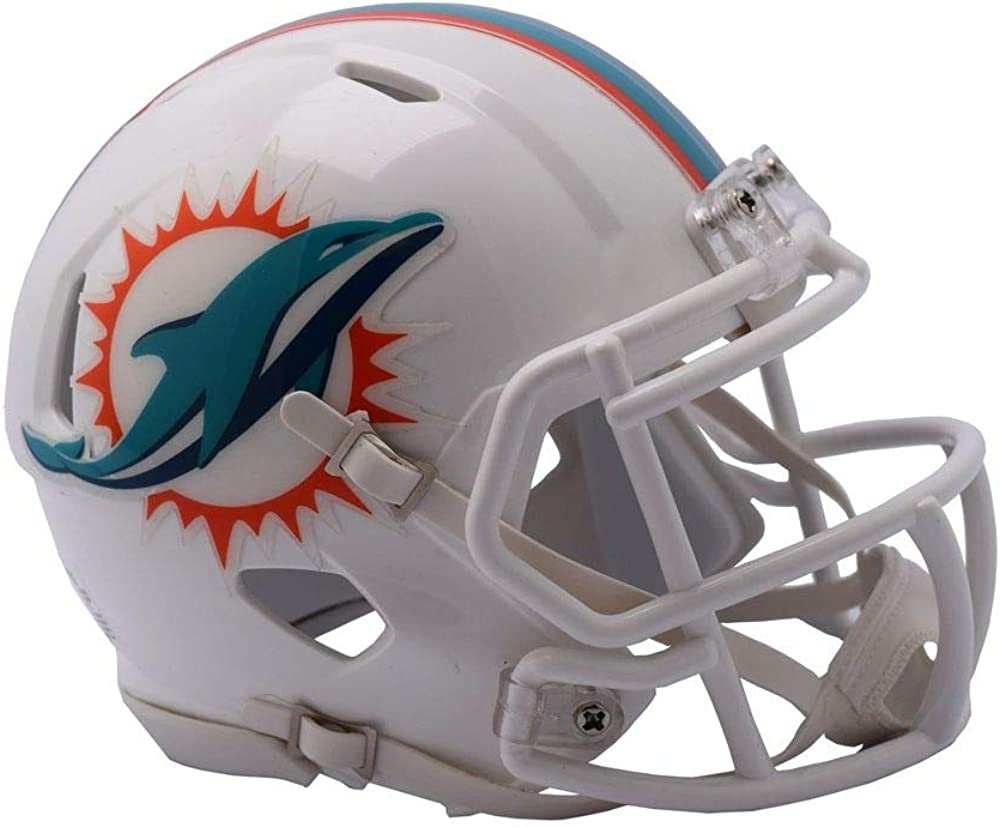 Riddell NFL Miami Ranking TOP15 Dolphins Unisex Mini Speed Stylemiami Replica sold out
