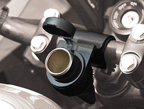 BC Battery Controller 710de s12a Agua Densidad bordsteck lata/encendedor de cigarrillos hembra con soporte para manillar para motocicleta, longitud 145cm