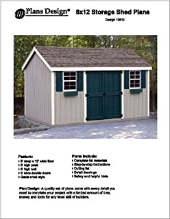 Best 8x12 shed plans Reviews