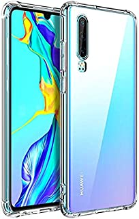 AINOYA Huawei P30 Case, [HGH-Quality][Personalized][Lovely][Shock Absorption Technology] [Drop Cushion] Raised Bezels Slim Protective Cover for Huawei P30