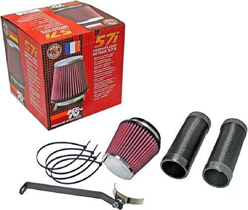 K&N 57-0680 Waschbarer und wiederverwendbarer KFZ Hochleistungsluftfiltersystem