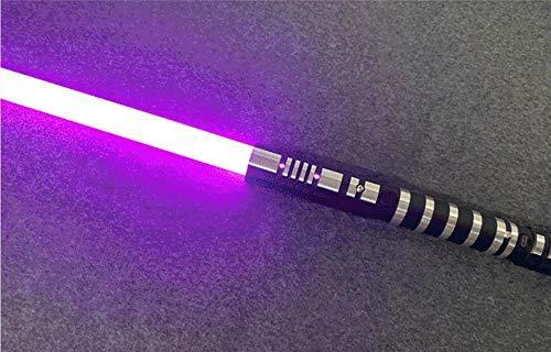 gengyouyuan Espada de Juguete Brillante Juguete de iluminación Desmontable de Metal RGB