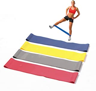 GUOJIAYI Yoga Pilates resistance band exercise ring band fitness ring rope stretch band band gym fitness exercise