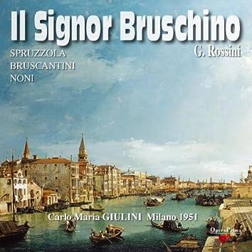 Rossini : Il Signor Bruschino (Milano 1951)