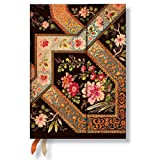 Filigree Floral Ebony - Paperblanks 2016 Weekly Planner (Midi 5 x 7 Horizontal)